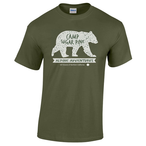 GSNorCal Camp Sugar Pine T-shirt