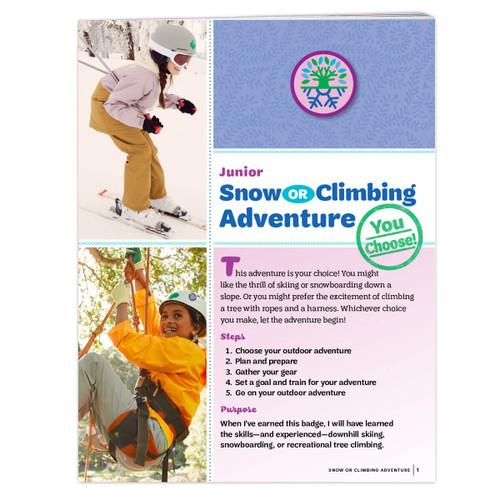 Junior Snow Or Climbing