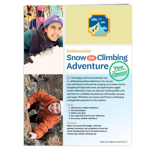 Ambassador Snow Or Climbing