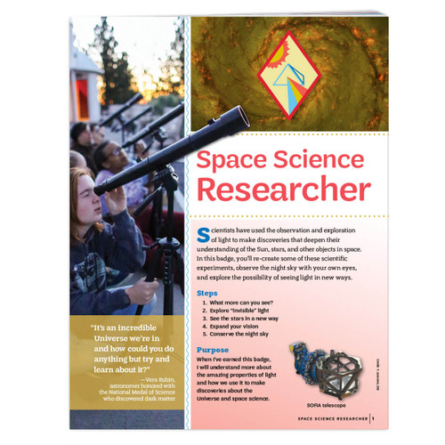 Cadette Space Science Researcher