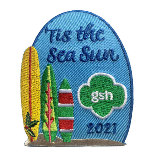 Girl Scouts of Hawaii Holiday Patch