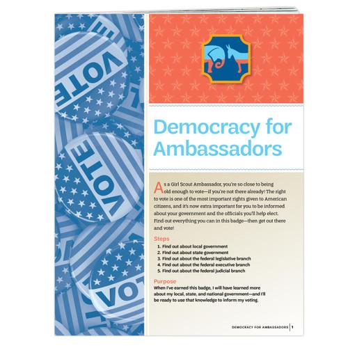 Democracy for Ambassadors