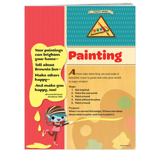 Brownie Painting Badge Requirements