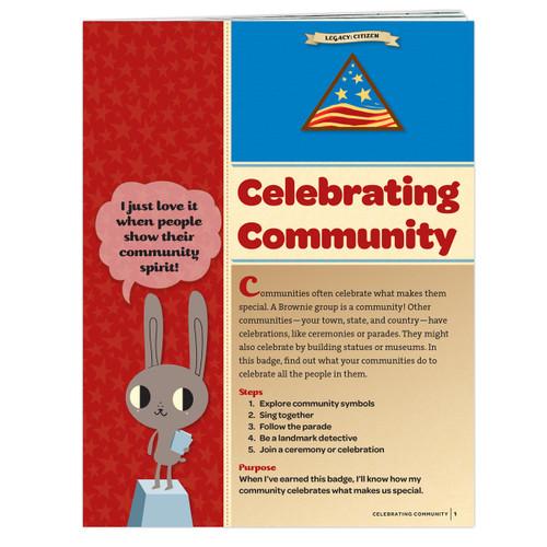 Brownie Celebrating Community