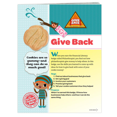 Brownie Give Back Badge Requirement