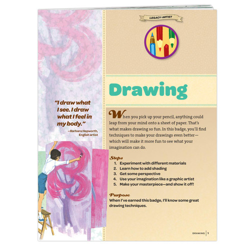 Junior Drawing Badge Requirements