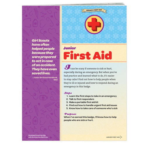 Junior First Aid Badge Requirements
