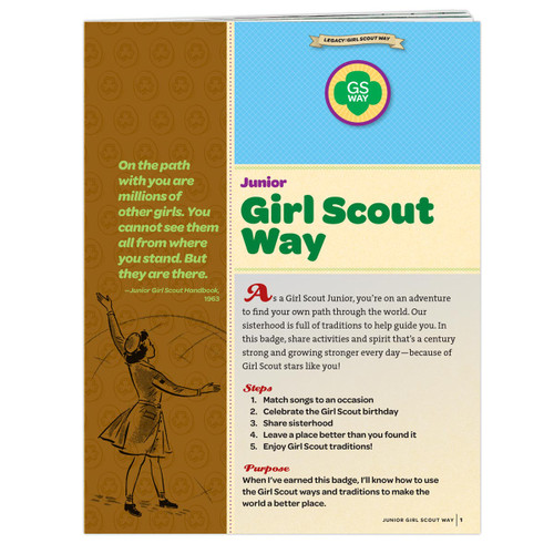 Junior Girl Scout Way