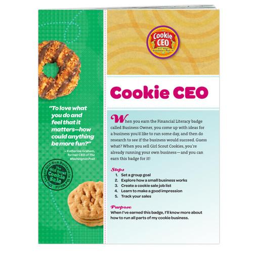 Junior Cookie CEO Badge Requirement