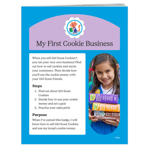 Daisy First Cookie Business