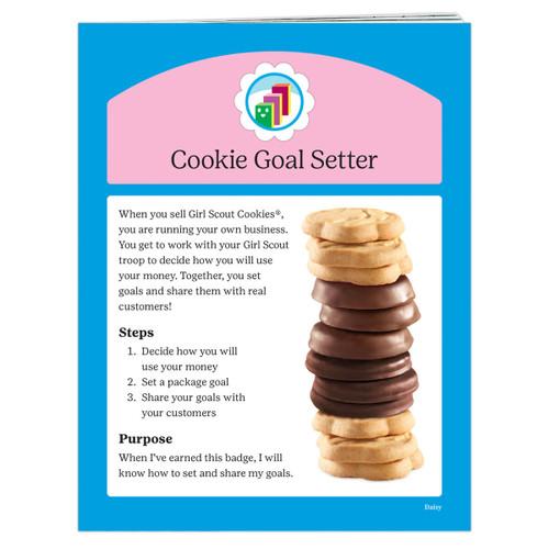 Daisy Cookie Goal Setter