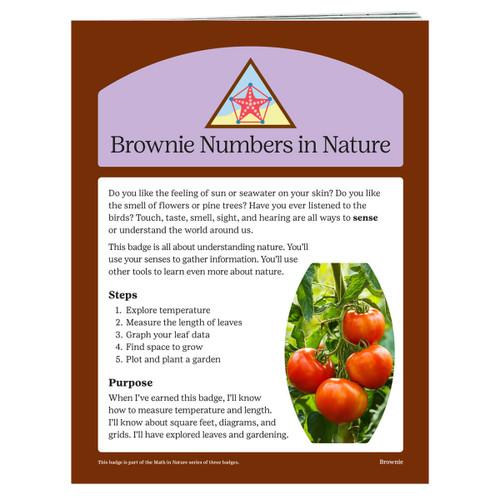 Brownie Numbers in Nature