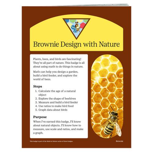 brownie design badge requirements