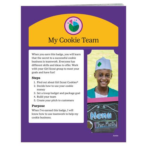 junior cookie team requirements