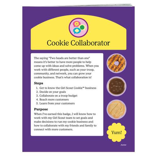 junior cookie badge requirements