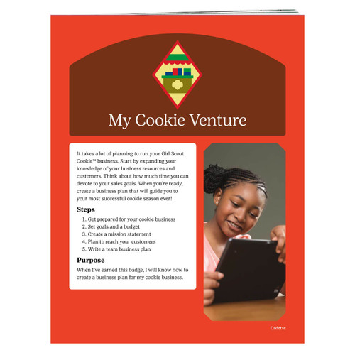 Cadette venture badge requirements
