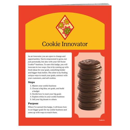 cadette cookie badge requirements