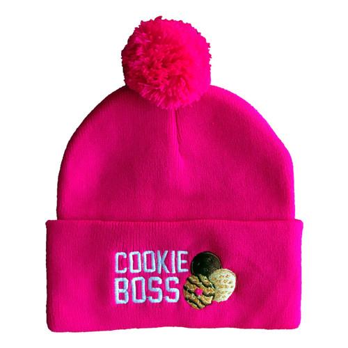 GSMW Cookie Boss Beanie fuchsia