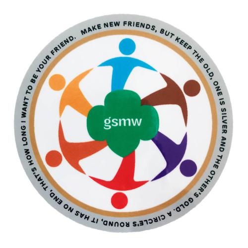 GSMW Make New Friends Sticker