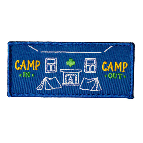 GSOSW Camp In Camp Out Fun Patch