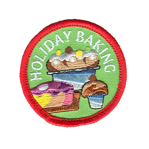 GSOSW Holiday Baking Fun Patch