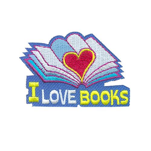 GSOSW I Love Books Fun Patch