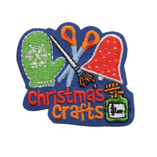 GSOSW Christmas Crafts Fun Patch