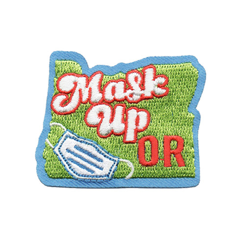 GSOSW Mask Up Oregon Fun Patch