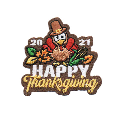 GSOSW Thanksgiving 2021 Fun Patch
