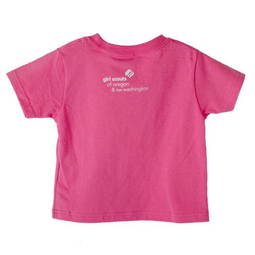 GSOSW Future Girl Scout T-Shirt Pin