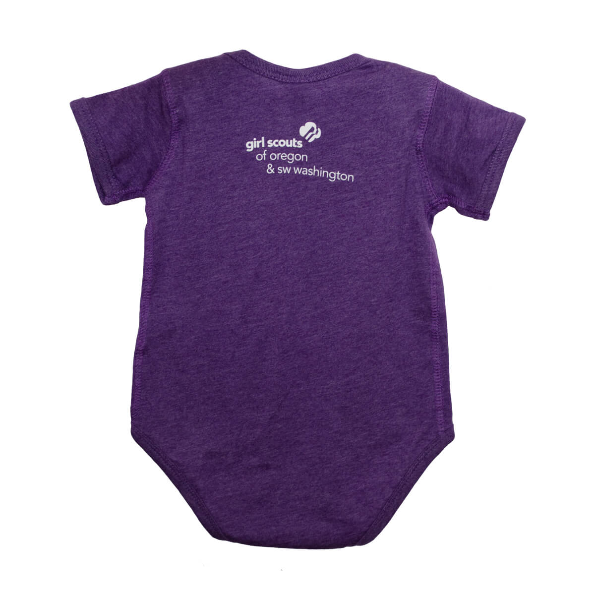 GSOSW Future Girl Scout Onesie Purp