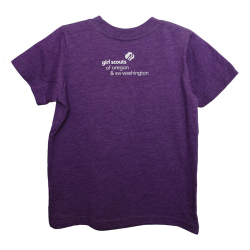 GSOSW Future Girl Scout T-Shirt Pur