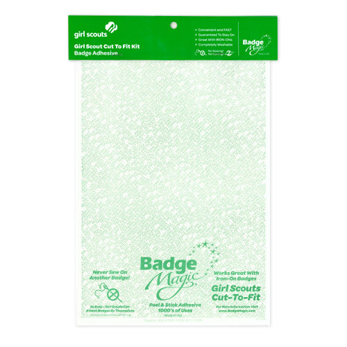 Badge Magic Girl Scout Cut To Fit Kit