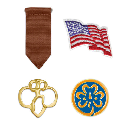 Girl Scout Brownie Insignia Pack