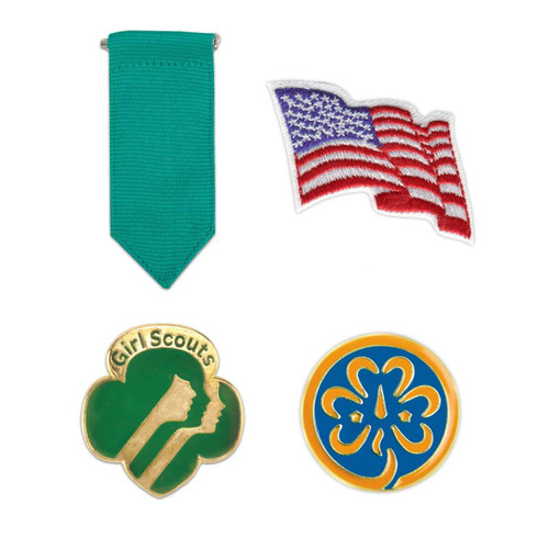 Girl Scout Junior Insignia Pack