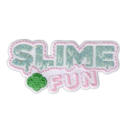 slime fun glitter patch