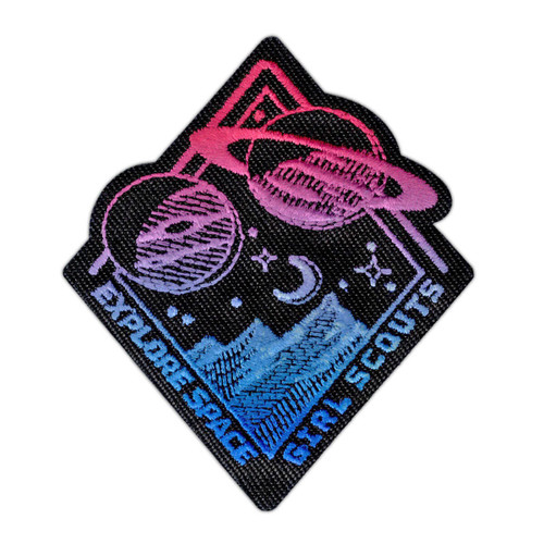 Space Exploration Iron-On Patch