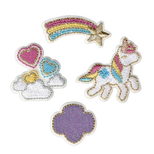 Unicorn Mini Patch Set