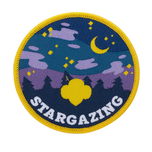Stargazing Iron-On Patch