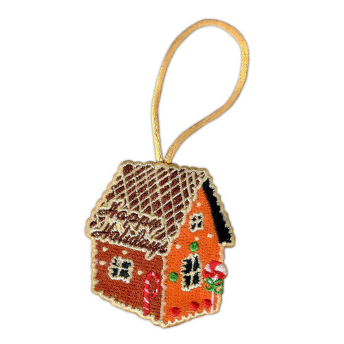 Gingerbread House Patch Ornament