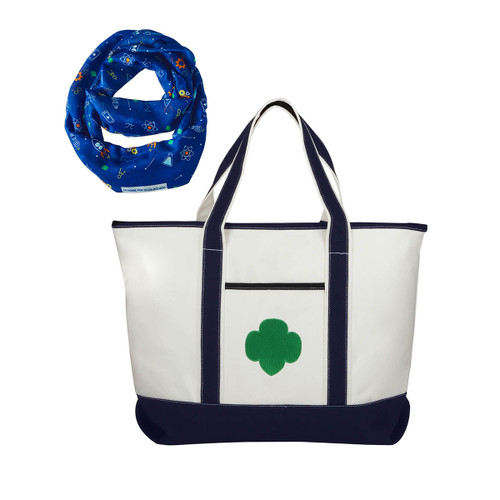Tote and Scarf Holiday Bundle