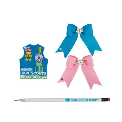 Daisy Bundle - Pencil Patch Bow Set