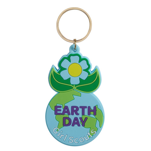 Earth Day Key Ring