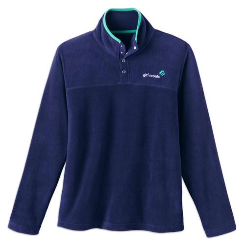 Navy Fleece Pullover