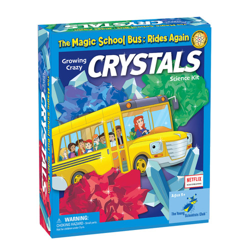 Magic School Bus Grow Crystals Kit