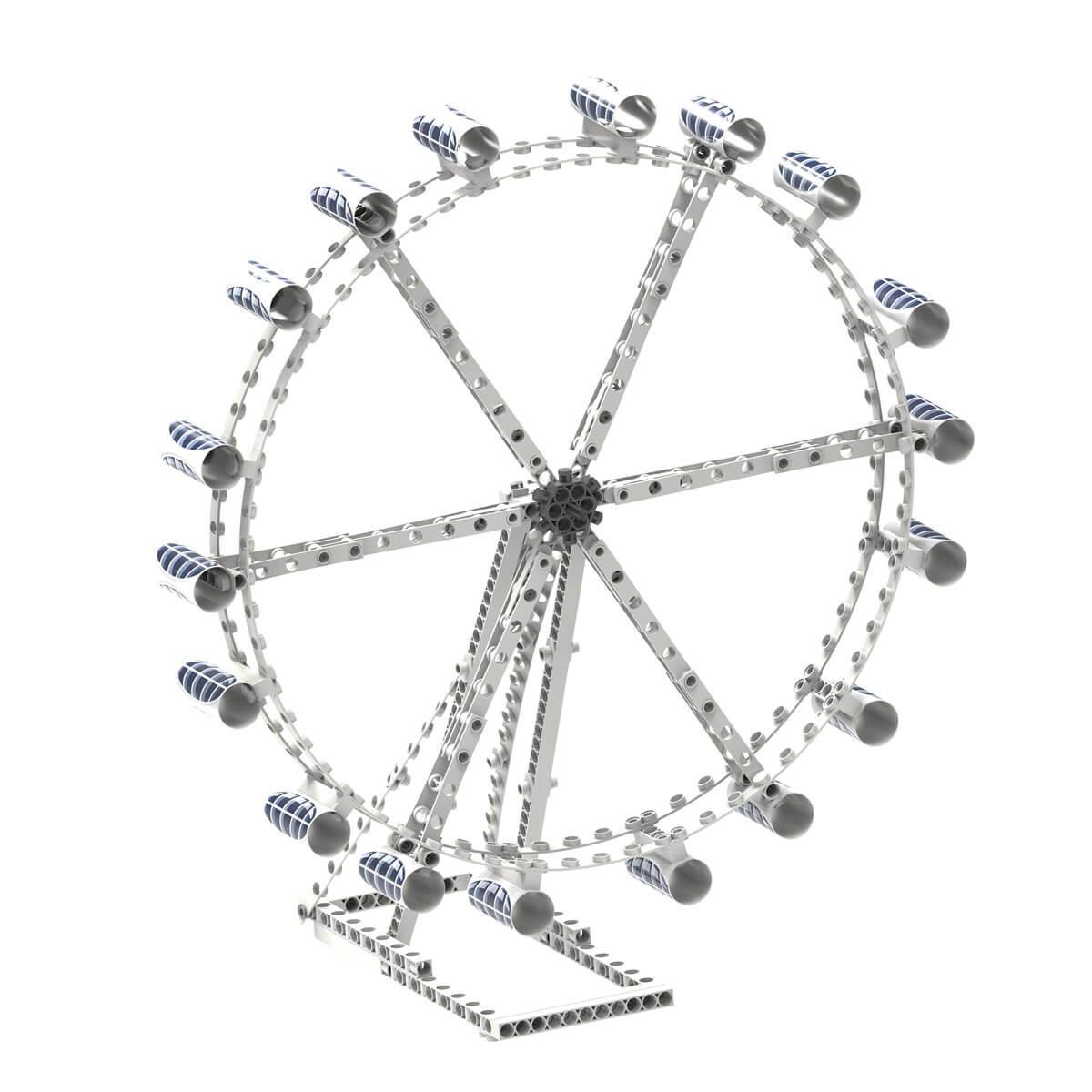 Build a ferris wheel