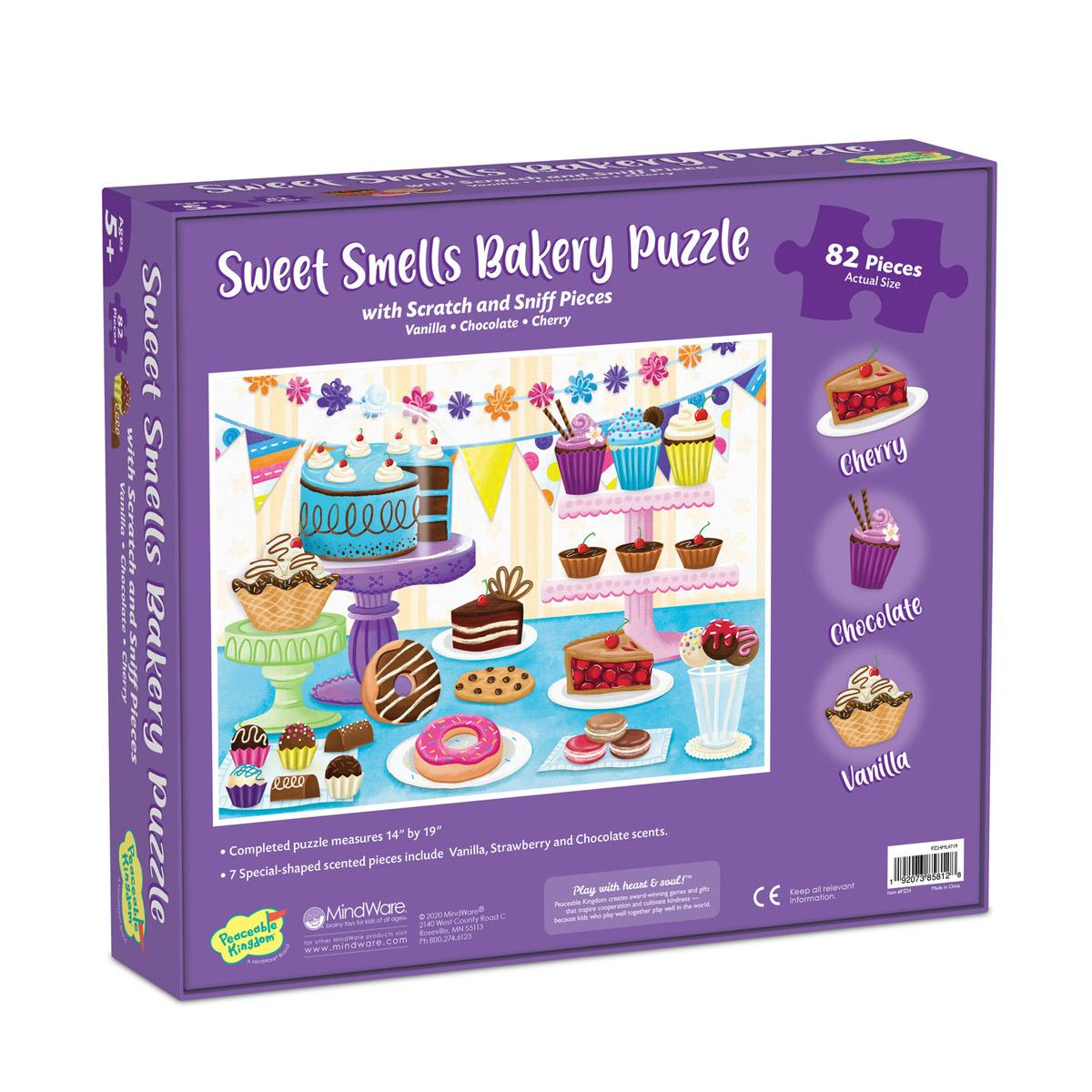 Scratch and Sniff Bakery Puzzle