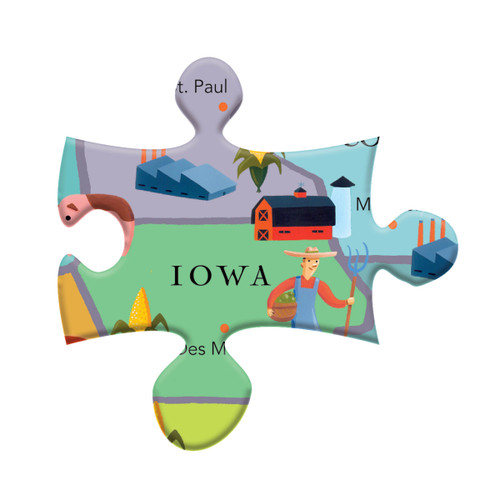 100 piece jigsaw puzzle