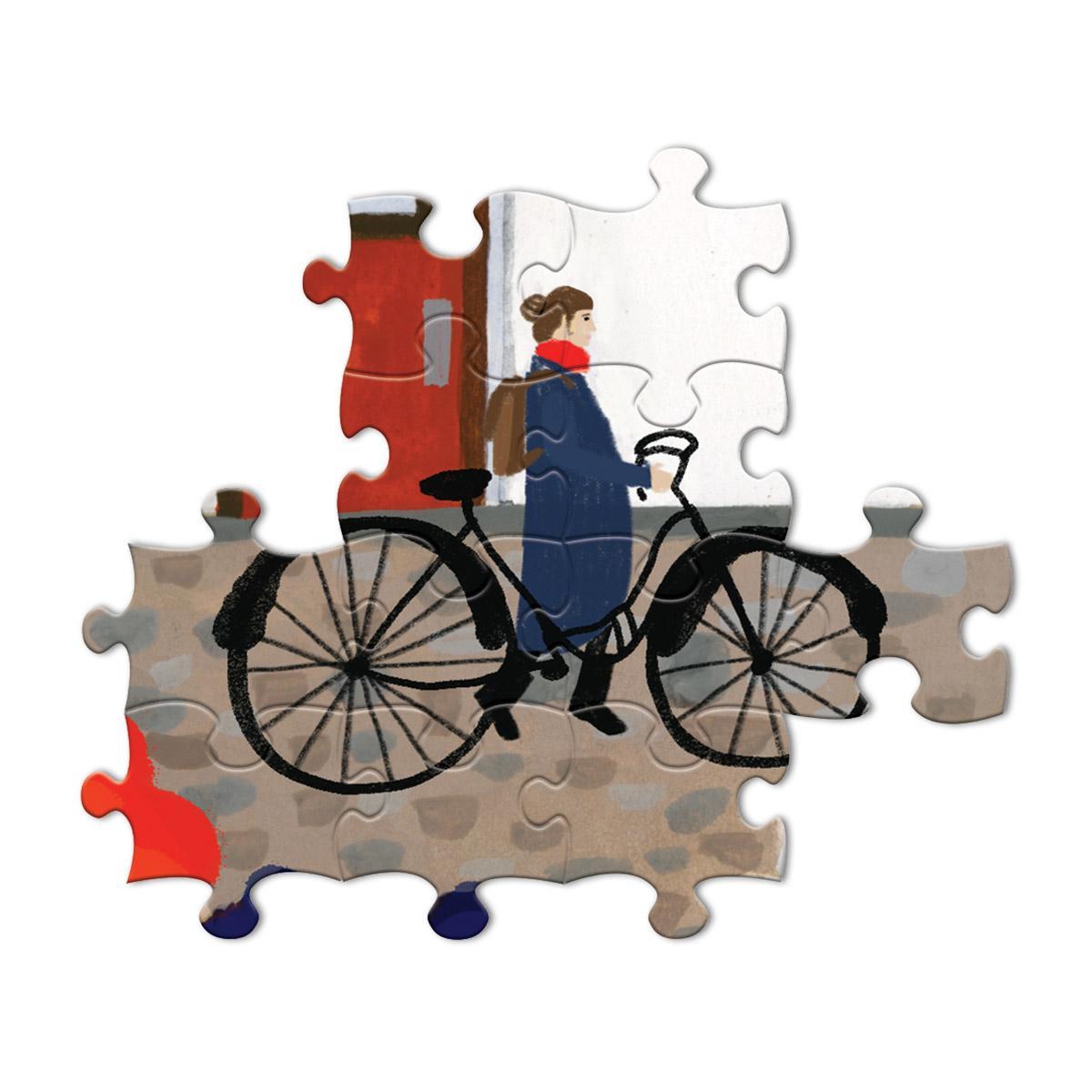 Whimsical Village 1000 Piece Puzzle