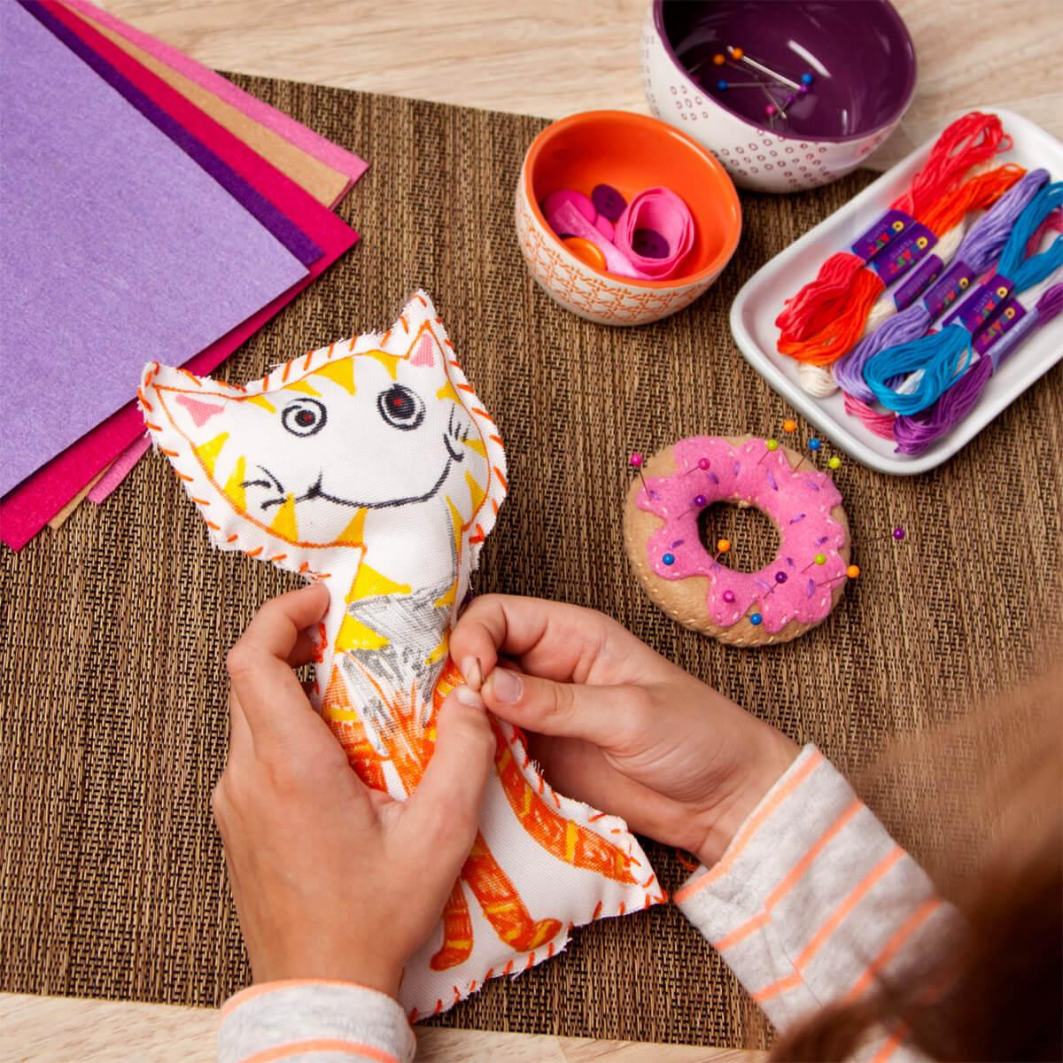 Learn how to sew crafts